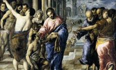 el greco guarigione del cieco nato