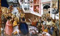 Pietro Lorenzetti Gesu entra in Gerusalemme