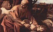 Abramo - Il sacrificio di Isacco - Caravaggio