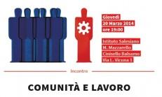comunita e lavoro