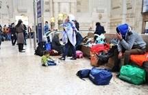 profughi stazione centrale