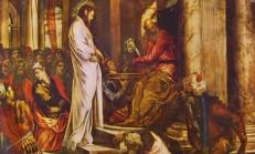 Cristo davanti a Pilato