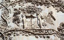 Orvieto_-_Duomo,_Pilastri_istoriati,_dettaglio_del_Peccato_Originale